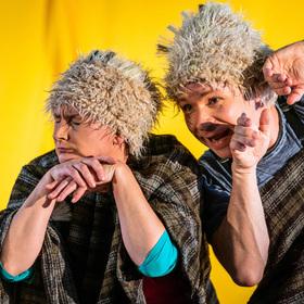 Bild: Theater Schreiber & Post - Die Hase und der Igel