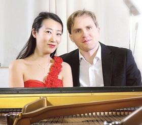 Bild: Virtuoses für vier Hände - Florian Koltun & Xin Wang