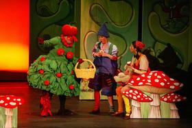 Bild: Hänsel und Gretel von Familienmusical nach der Oper