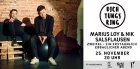 Bild: DichtungRing mit Nik Salsflausen & Marius Loy - Zweifel - Ein erstaunlich erbaulicher Abend