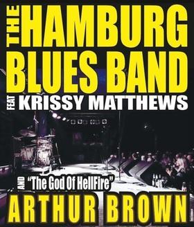 The HAMBURG BLUES BAND - feat. Arthur Brown, Chris Farlowe, Krissy Matthews