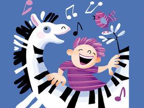 Bild: Die magischen schwarz-weißen Tasten - oder warum man auf Zebras nicht Klavier spielen kann