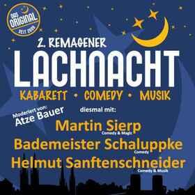Bild: Remagener Lachnacht - Martin Sierp, Bademeister Schaluppke und Helmut Sanftenschneider