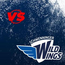 Bild: Iserlohn Roosters - Schwenninger Wild Wings