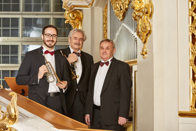 Bild: Abschiedstournee Ludwig Güttler & Friedrich Kircheis Gastsolist: Volker Stegmann - Duo Trompete/Orgel plus Gastsolist
