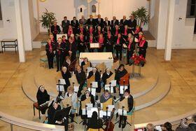 Bild: Vorweihnachtliches Singen und Musizieren