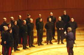Bild: Don Kosaken Chor Serge Jaroff - Leitung: Wanja Hlibka