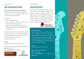 Bild: Die Musikmacher - Eine Liveshow zum Mitmachen für Youngsters