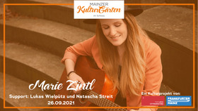 Bild: Mainzer KulturGärten im Schloss - Marie Zintl - Support: Lukas Wielpütz und Natascha Streit