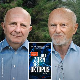 Bild: Digitale Buchpremiere: Dirk Rossmann mit Ralf Hoppe - Der Zorn des Oktopus