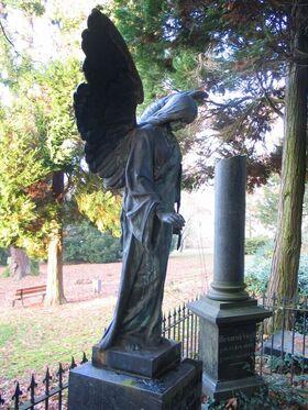 Bild: Der Alte Friedhof - Peter Meilinger