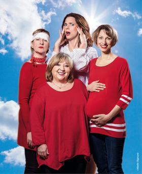 Bild: Himmlische Zeiten - mit Angelika Mann, Franziska Becker, Heike Jonca, Nini Stadlmann
