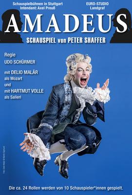 Bild: Amadeus - mit Wolfgang Seidenberg, Delio Melär, Kristin Hansen, Martin König u. a.