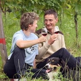 Bild: tafelVINE im Weingut Rinklin - tafelvine Sommerevent 2022