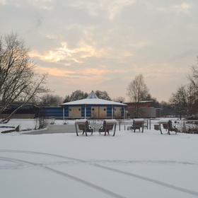 Bild: Winterliche Kurparkführung