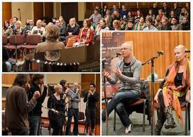 Bild: SLIXS Workshop in der Stadthalle - We sing – we groove: Circle Songs und Body Percussion 10-14 Uhr