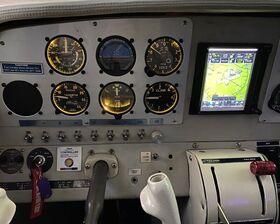 Bild: Beechraft   Flugsimulator