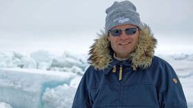 Bild: Markus Rex: Eingefroren am Nordpol - im Rahmen der 20. Westerwälder Literaturtage