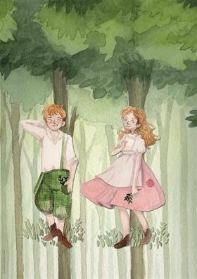 Bild: Gretel und Hänsel