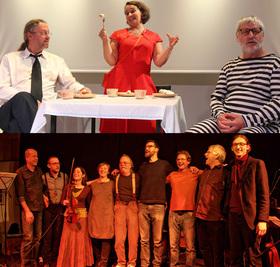 Bild: Theater und Blues - Keller Bluesband und Theater aus Schöneiche