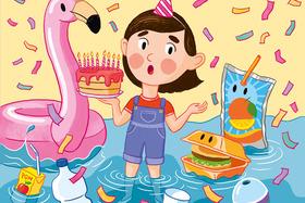Bild: Lilu feiert Geburtstag - JTA