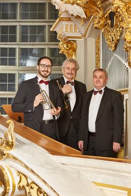 Bild: Abschiedstournee Ludwig Güttler & Friedrich Kircheis Gastsolist: Johann Clemens - Duo Trompete/Orgel plus Gastsolist