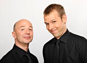 Bild: Helge und das Udo - SITZT!
