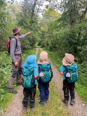 Bild: Naturkundliche Familienführung - Natur aus Menschenhand
