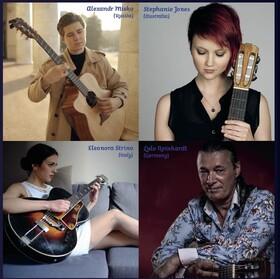 Bild: Nacht der Gitarren - Tour 2021 - mit Lulo Reinhardt / Alexandr Misko / Eleonora Strino / Stephanie Jones