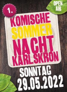 Bild: Kultur Sommer Karlskron - Komische Sommernacht - Comedy Marathon