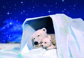 Bild: Der keine Eisbär - Figurentheater für Kinder ab 3 Jahren nach Hans de Beer