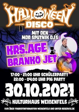 Bild: Halloween-Disco - P16-Party