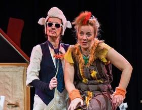Bild: Wolle und Gack - Musiktheater Lupe, Osnabrück | für Zuschauer ab 4 Jahren