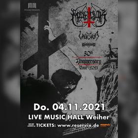 Bild: Marduk - 30th Anniversary Tour 2021