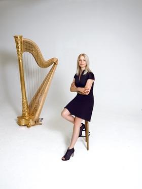 Bild: Evelyn Huber – Harfe Solo