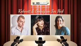 Kabarett im 3er Pack - mit Mia Pittroff, Mika Blauensteiner & Nikita Miller