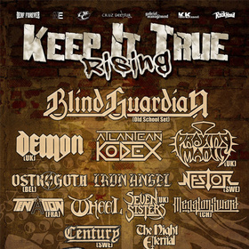 Bild: Keep It True Rising Festival - Blind Guardian & many more!