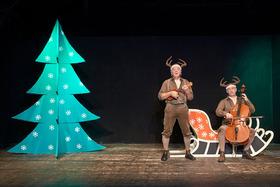 Bild: Alle Jahre wieder - Zwei Rentiere singen Weihnachtslieder - Alle Jahre wieder - Zwei Rentiere singen Weihnachtslieder