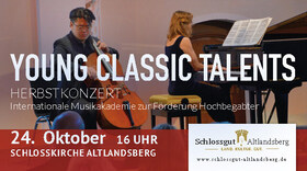 Bild: Young Classic Talents - Herbstkonzert Internationale Musikakademie zur Förderung Hochbegabter