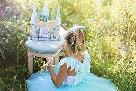 Bild: Ein Wintermärchen: Die Prinzessin auf der Erbse