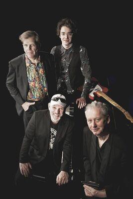 Bild: Pure Blues with Georg Schroeter, Marc Breitfelder, Kalle Reuter and Torsten Zwingenberger