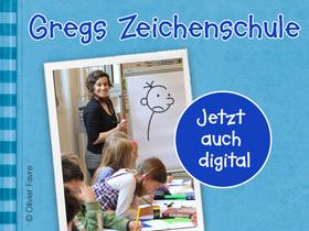 Bild: Digitaler Greg-Zeichenworkshop mit Charlotte Hofmann