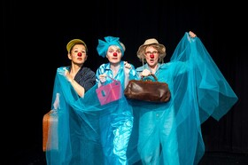 "Bild: Theater NADI im Lindenpark - ""Robinson Clown"""
