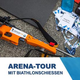 Bild: Arena-Tour mit Biathlonschießen - ARENA-TOUR mit Biathlonschießen