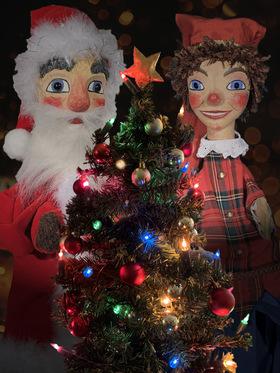 Bild: Kasper und der Weihnachtsmann