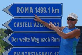 Bild: Walter Wärthl: In 44 Tagen zu Fuß von Velden nach Rom