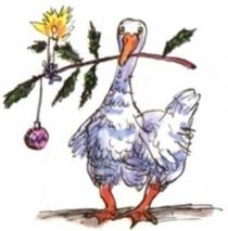 Bild: Die Weihnachtsgans Auguste