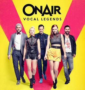 """Bild: ONAIR - Pop A Cappella - """"VOCAL LEGENDS"""""""
