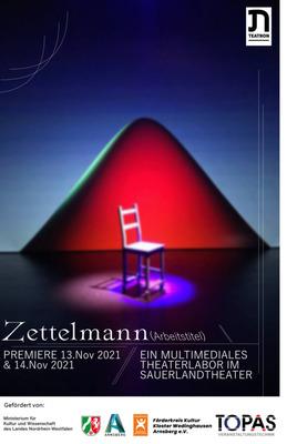 Bild: Teatron Theater – Zettelmann - Narro ergo sum – Ich erzähle, also bin ich-