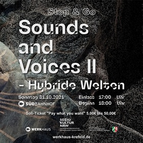 Bild: Sounds and Voices - Stop & Go - Hybride Welten    Sounds and Voices III